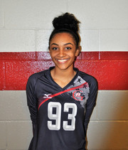 GA5 Volleyball Club 2018:  #93 Zaria Barnes