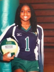 A5 Gwinnett Volleyball Club 2020:  #40 Kelly Clarke