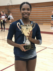 A5 Gwinnett Volleyball Club 2020:  #10 Serenity Owens